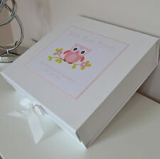 Christening Gift Keepsake Box  Memory Box Personalised New Baby Birth Birthday