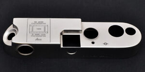 Leitz original and rare top plate for M6 150 JAHRE PHOTOGRAPHIE/75 JAHRE LEICA,
