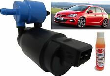 Front & Rear Windscreen Washer Pump Vauxhall Astra Hatchback 09>12 + Screen Wash