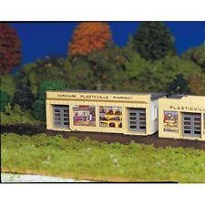 Bachmann Plasticville 45143 Hardware Store HO Gauge Plastic Model -Tracked 48