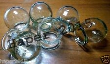 Glass Fire Cupping Cups Vintage SET of 12 glass Health for medical massage Best!