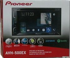 "Pioneer AVH-500EX In-Dash DVD Receiver w/6.2"" WVGA Display Bluetooth NEW for '18"