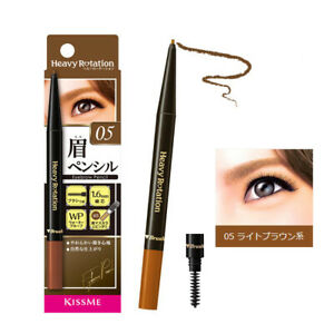 [ISEHAN KISS ME] Heavy Rotation Eyebrow Pencil w/ Built-in Brush 05 LIGHT BROWN