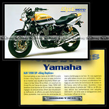 YAMAHA XJR 1200 SP 'KING REPLICA' (Kenny Roberts) Sport Bike Fiche Moto #OM7.14