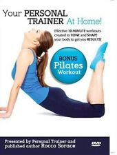 PILATES WORKOUT -YOUR PERSONAL TRAINER AT HOME WITH HEALTHY EATING PLAN DVD