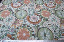 TFA Modern Mosaic Bohemian Medallions Upholstery Tapestry Circles Geometric