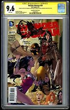 Wonder Woman #39 Variant (1:100) Sketched by Lupacchino & Signed 3X! CGC SS 9.6!