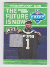2018 Panini National Future is Now Hat Relic #DP-3 Marcus Davenport RC
