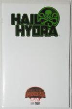 Hail Hydra #1 Blank Cover Variant Secret Wars Marvel Comics