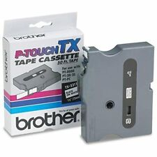 Brother International Tx2311 Genuine Brother Brand Ptouch Tx2311 1/2inch Black
