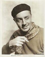 WILLIAM POWELL Original Vintage WARNER BROS. PORTRAIT 1920's