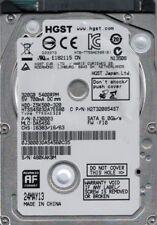 HGST Z5K500-320 SATA 3.0Gb//s 320GB 5400 RPM HTS545032A7E380 J30143 666287-002 2.