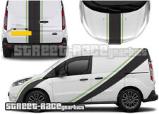 Ford Transit Connect Rally 003 decals stickers Graphics Racing Stripes