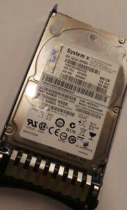 """IBM 600GB 10K 2.5"""" SAS HDD 49Y2004 49Y2003 49Y2007 90DAY WARRANTY FREEUKSHIPPING"""