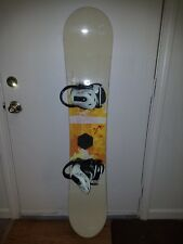 Burton Feather 47 Women's Snowboard 147 cm Stiletto Bindings Great Condition