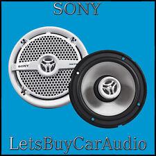 """Sony xs-mp1621 6 1/2 """" 2-way marine / résistant à l'eau bateau jacuzzi haut-parleurs"""