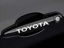 4X Toyota Door Handle Car Sticker Very cool High Quality Fits All Types Toyota!!