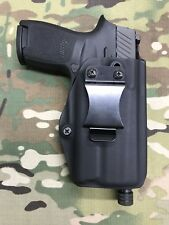 Black Kydex IWB Holster for SIG P320 X-Carry Threaded Barrel Surefire XC1