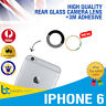 iPhone 6 Camera Lens Glass Back Rear Glass Replacement With 3M Adhesive NEW