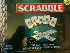 Scrabble card game FAST, FUN WORD GAME TRAVEL GAME VOCABULARY AGE 10+
