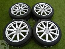 Genuine AUDI TT mk2 SPEEDLINE 18inch LEGA wheels+new BRIDGESTONE tyres,s-line