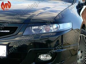 Front Eyelids Eyebrows Headlight Cover for Honda Accord VII 7 / Acura TSX 05-08
