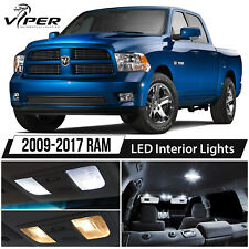 2009-2017 Dodge RAM 1500 2500 3500 White LED Interior Lights Package Kit