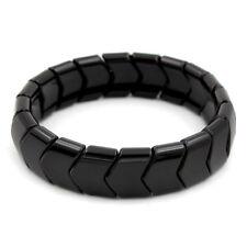 Power Ionic Health Negative Ion Tourmaline Arrows Beads Stretch Bracelet Unisex