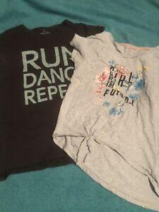 Girls T-Shirt Bundle Age 13-14 Yrs Next & Nutmeg
