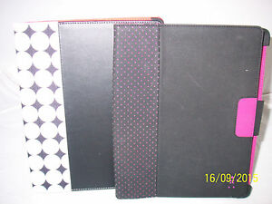 "Belkin Tablet Cover 10"" Black with White or Purple Dots  NEW  Choose Color"