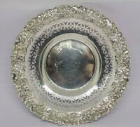 1900 FENTON BROTHERS Ltd ANTIQUE ENGLISH STERLING SILVER DISH. 60 GRAMS.