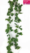 12x 2m Artificial Grape Leaves Vine Climber Garland Plant Foliage Decor PM3050