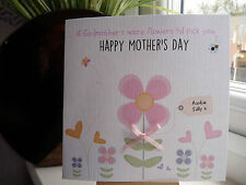 Handmade Personalised Mother's Mothers Day Card Birthday Mum Nan Godmother Gran