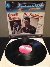 Brook Benton / Bo Diddley ‎- La Grande Storia Del Rock 54 LP vinyl EX