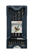 Bosch Professional Mehrzweckbohrer DIY 14tlg. Mini-X-Line Universalbohrer-Set