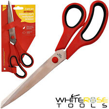 "Amtech Wallpaper Scissors 250mm 10"" Decorating Sharp Cut Stainless Steel"