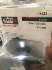 Weber Replacement Caster Wheel BBQ Grill #3623 New