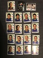 Panini World Cup 2006 Serbia Full  Set Of 19 Soccer Football Stickers