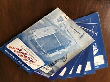 CHELSEA HOME AND AWAY PROGRAMMES FROM 1968//9 SELECT FROM LIST