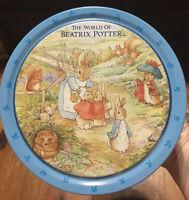 The World of Beatrix Potter Vintage Large Tin, Frederick Warne, 1992