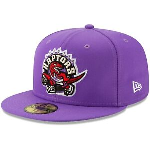 Men's New Era Purple Toronto Raptors Hardwood Classics Nights 59FIFTY Fitted Hat