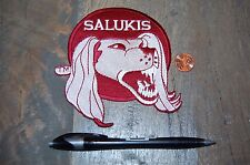"Southern Illinois Salukis Retro 1977-2000 4 1/4"" Logo Patch College"