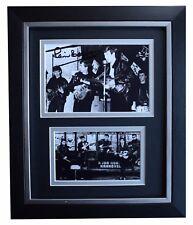 Pete Best SIGNED 10x8 FRAMED Photo Autograph Display Beatles Music AFTAL COA
