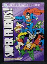 Superfriends: Season One, Vol. 2 (DVD, 2010, 2-Disc Set, DC Comics) w/ Slipcover