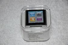 Apple iPod Nano 6th Generation 8GB Silver MC525LL/A AAC WAV MP3 Media Player New