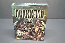 New old stock vintage sealed big box Dark Reign 2 pc windows game