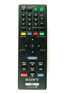 Original Sony RMT-B118A BluRay Remote Control