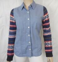 We the Free People Womens Size M Long Sweater Sleeve Shirt Top