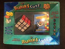 "Rubik's Cube ""The Ultimate Brain Teaser"" w/ hint booklet, New"