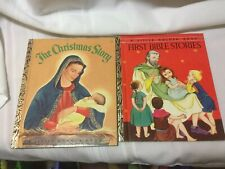 The Christmas Story First Bible Stories Little Golden Book 1954
